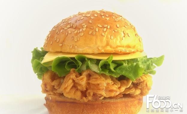 优莱客汉堡图片