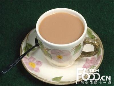 快三秒奶茶图片
