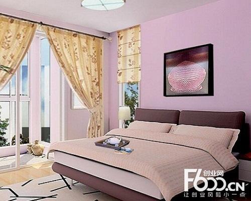 客厅电视背景墙贝壳粉效果图