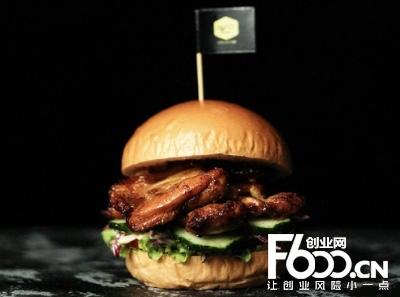 屠夫汉堡图片