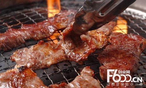 新石器烤肉图片
