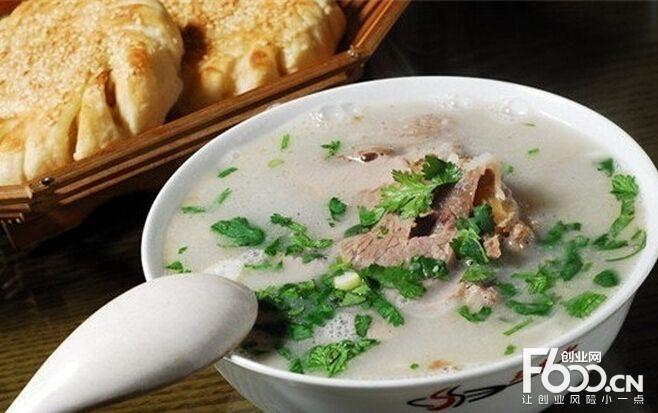 羊杂割羊肉汤
