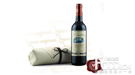 巴黎庄园葡萄酒图片