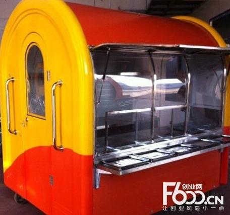 迪拜烤肉移动车