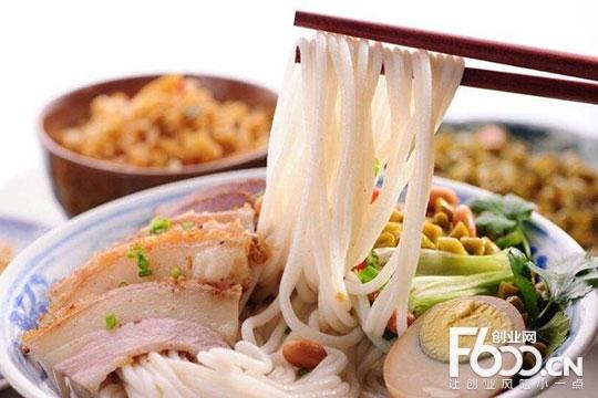 遇见酸菜鱼米线加盟