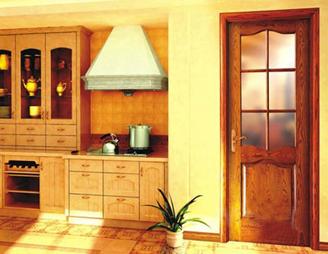 简单的欧式风格,演绎出完美的木门风采