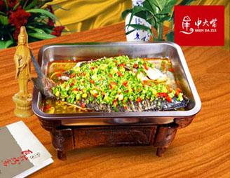 申大嘴瓦缸烤鱼