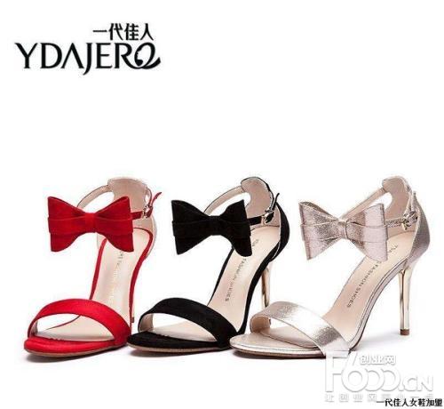 一代佳人女鞋图片