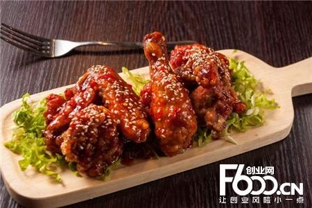 热辣基地韩式炸鸡图片