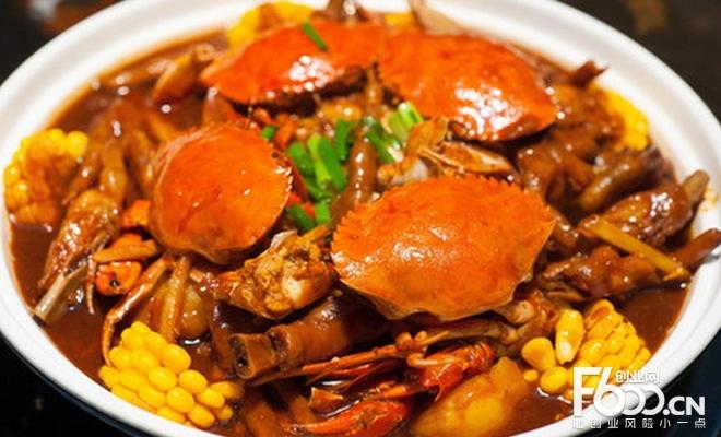 胖三宝肉蟹煲