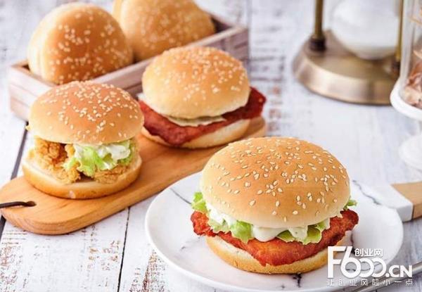 好多肉汉堡品牌加盟可以吗?低成本创业就是好