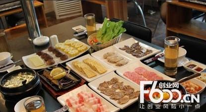 韩国纸上烤肉加盟