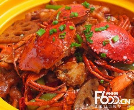 巴比酷肉蟹煲