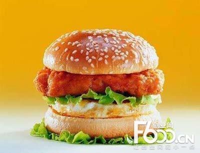 威福克炸鸡汉堡
