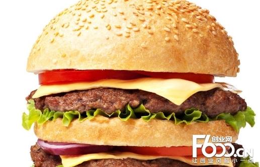美加美汉堡图片