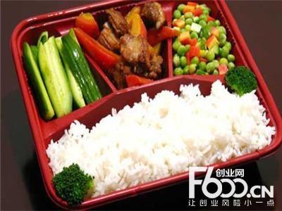 快吉客中式快餐图片