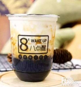 八点醒奶茶