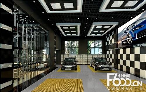 汽车美容店在准备开业的时候,都在装修方面投入太多,寄希望于以高端的