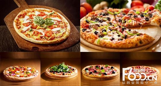 掌上披萨图片