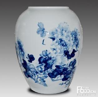 景德宝蓝瓷
