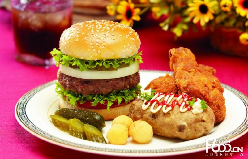 美吉姆汉堡店加盟