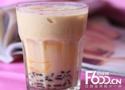 吸引奶茶加盟