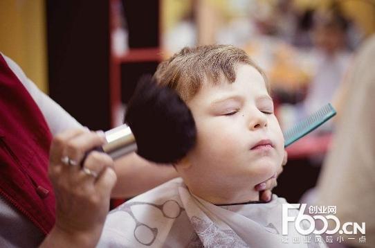 福娃娃儿童理发