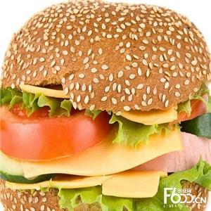 闪现汉堡图片