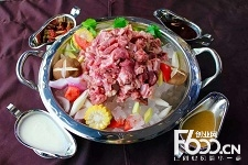 冰煮羊火锅