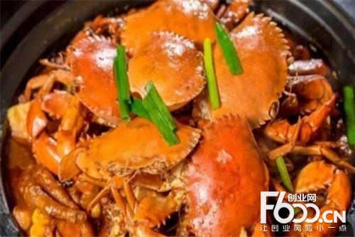 鬼脚蟹肉蟹煲