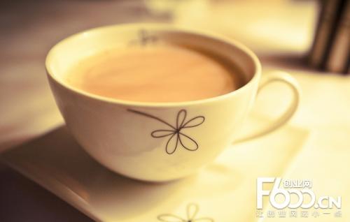地下铁奶茶图片