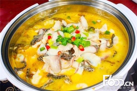 桃花渔季酸菜鱼