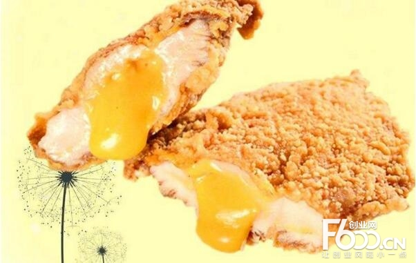 轰炸鸡排图片
