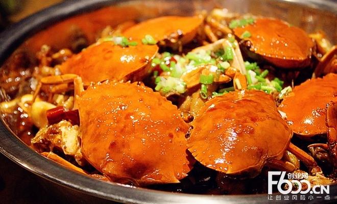 阿蔡肉蟹煲