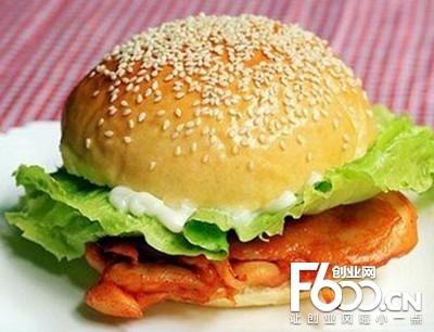 堡达人汉堡图片