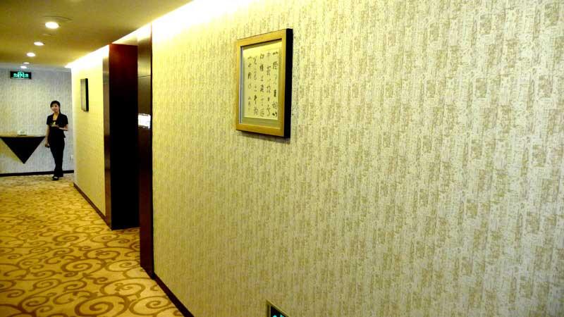 墙布门店装修效果图