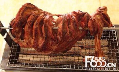 图门王烧烤图片