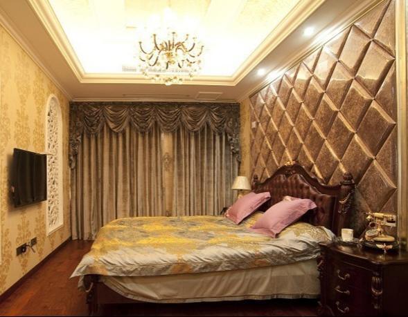 卧室欧式背影墙