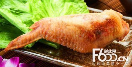 步鸡稻鸡翅包饭图片