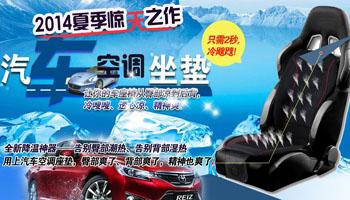 冰贝尔汽车空调座垫