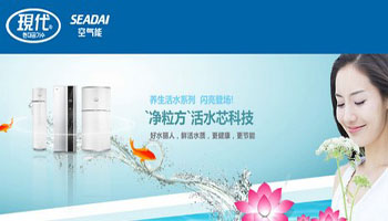 现代空气能热水器