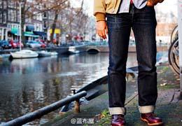 蓝布屋牛仔裤