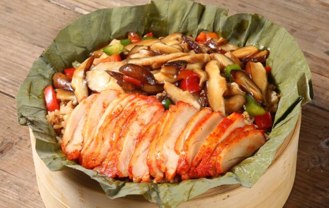 荷香奇食荷叶饭美味加盟