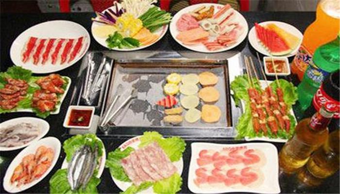 彭记自助烤肉火锅加盟