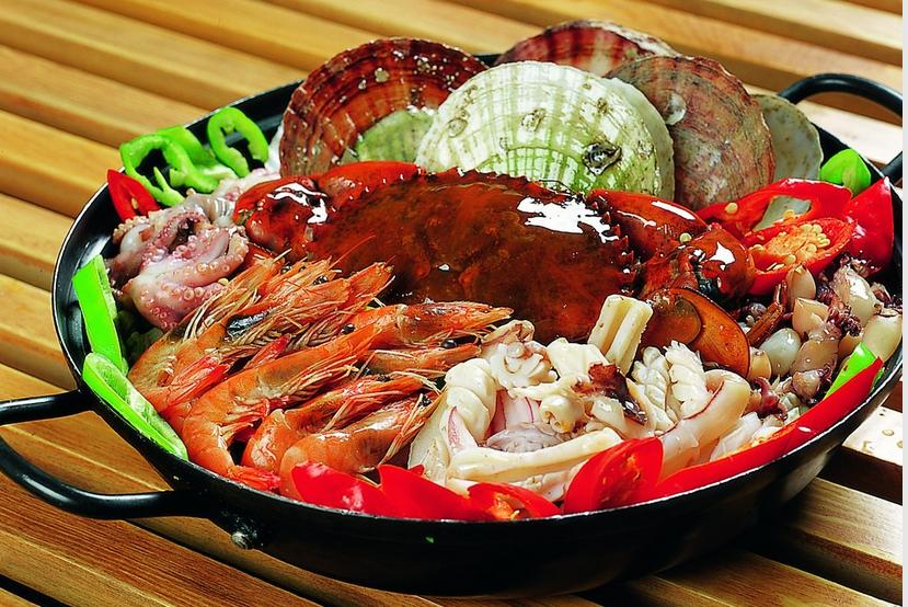 玛雅泰式海鲜火锅图片展示