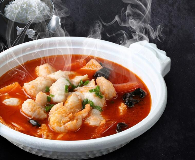 农夫鱼塘酸菜小鱼快餐
