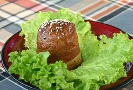 肉卷饭团烧小吃