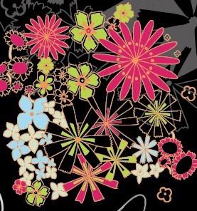 韩国colorful防燃壁纸