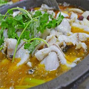 地方特色菜石锅鱼