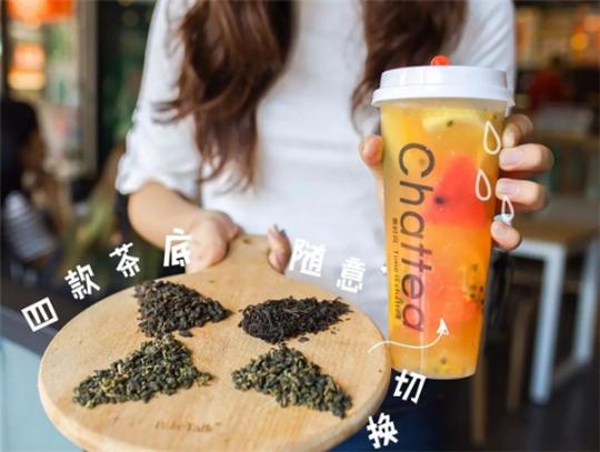 茶时间chattea加盟